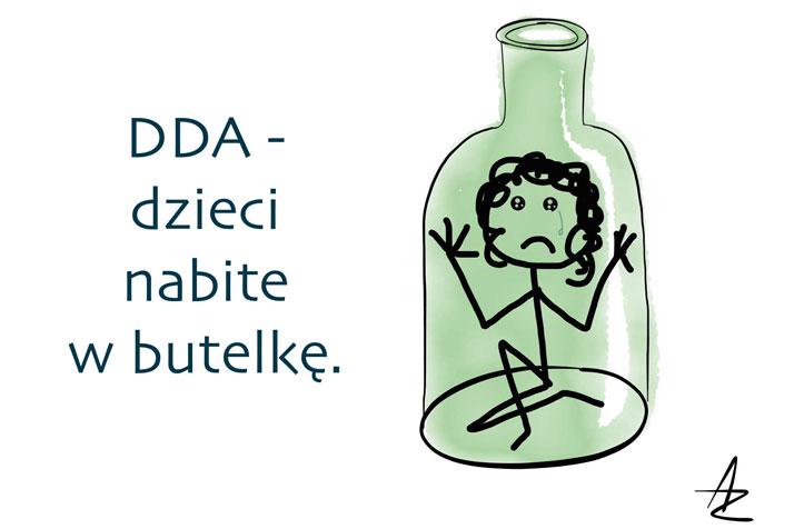 Dorosnąć doszczęścia, czyli osyndromie Dorosłego Dziecka Alkoholika (DDA)/ Dorosłego Dziecka zrodziny Dysfukcyjnej (DDA) —Agata Głyda